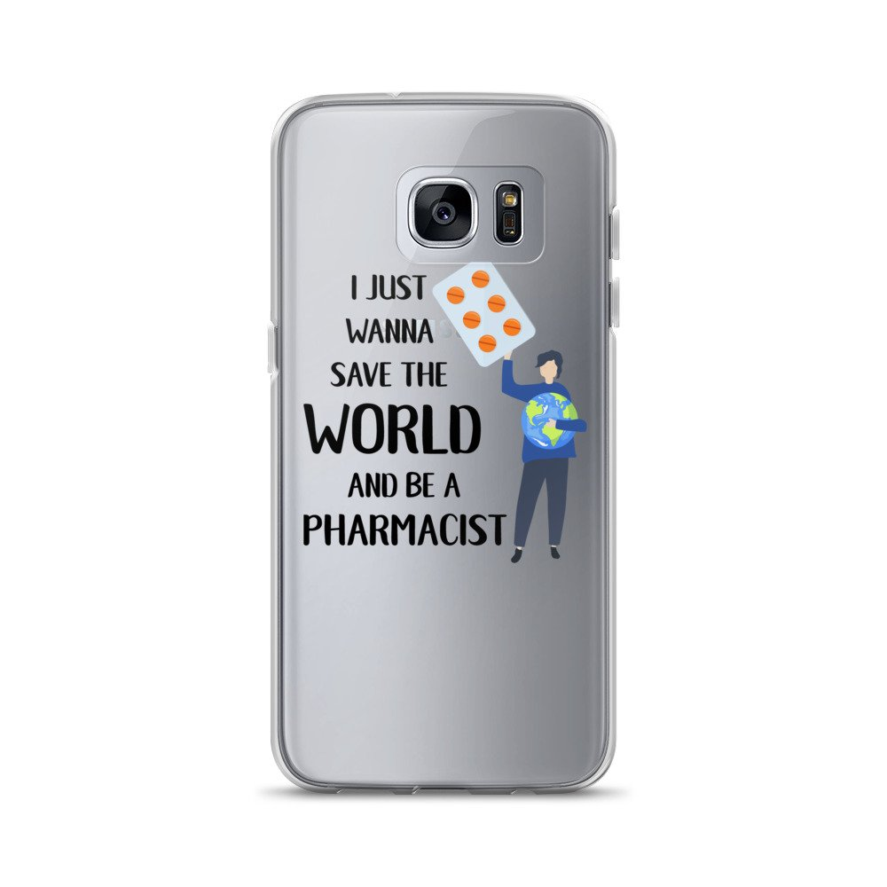 'I just wanna save the world and be a pharmacist' Samsung Case