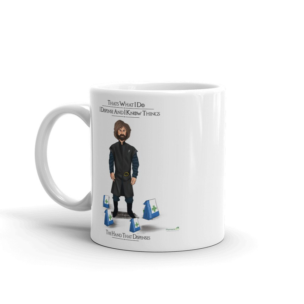 I Dispense and I Know Things (That's What I do) – High Quality Coffee or Tea Mug